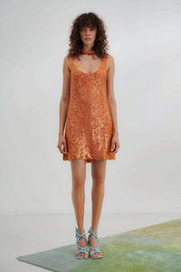 Delirium mini Dress - Mandarin