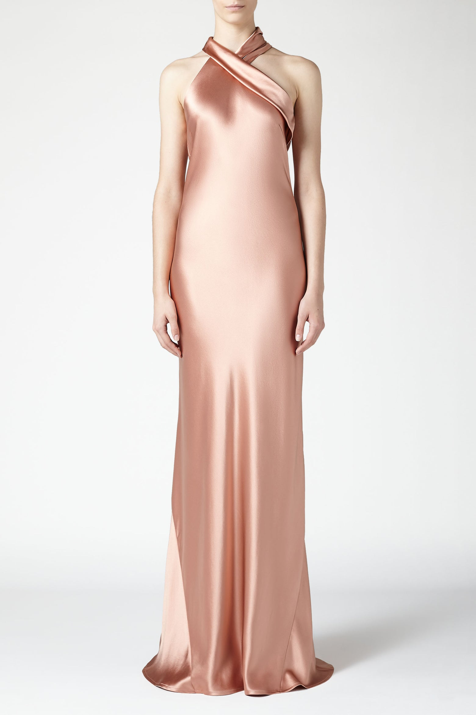 Pandora Dress - Rose Gold