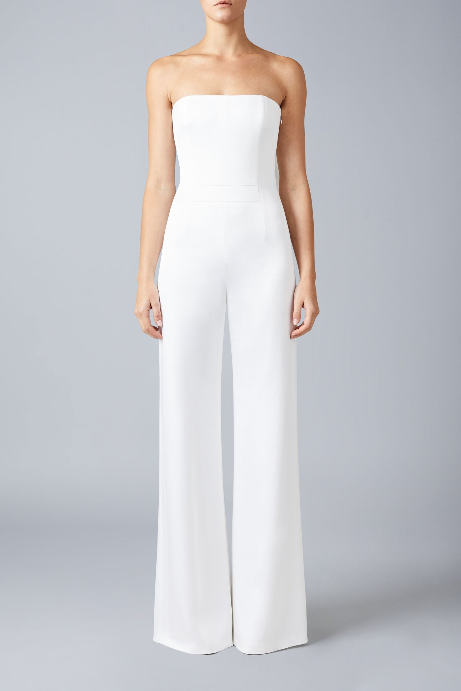 Paris Strapless Bridal Jumpsuit