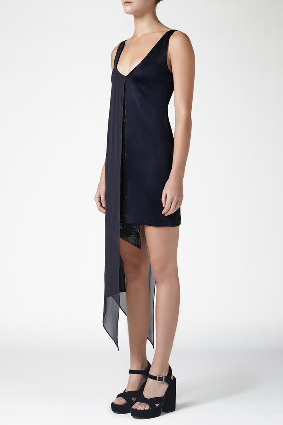 Serpentine Dress - Midnight