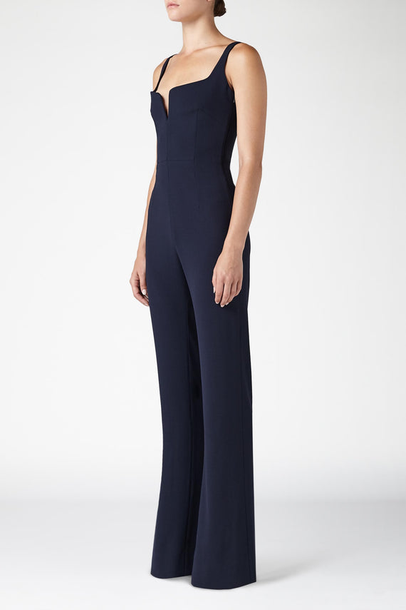 Signature Corset Jumpsuit - Midnight