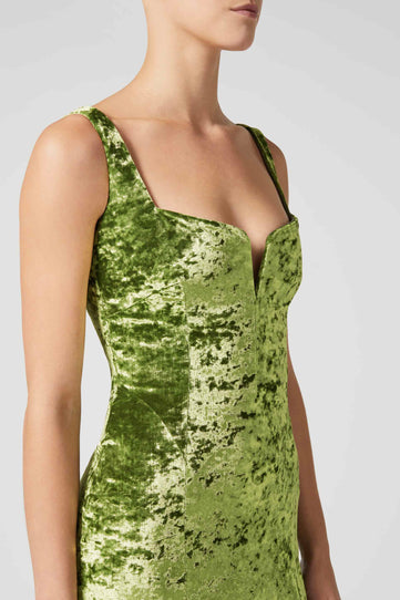 Solstice Dress - Avocado