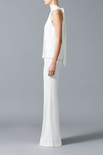 Silk Sash Neck Bridal Top