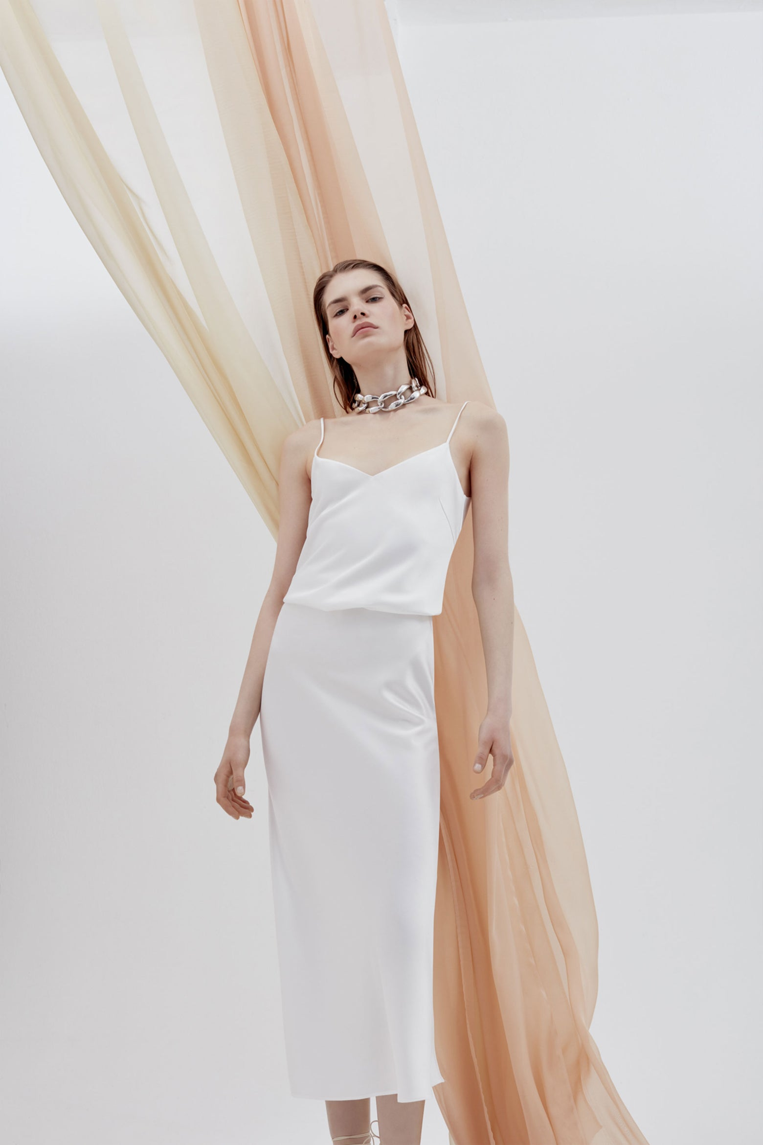 Valletta Bridal Satin Skirt
