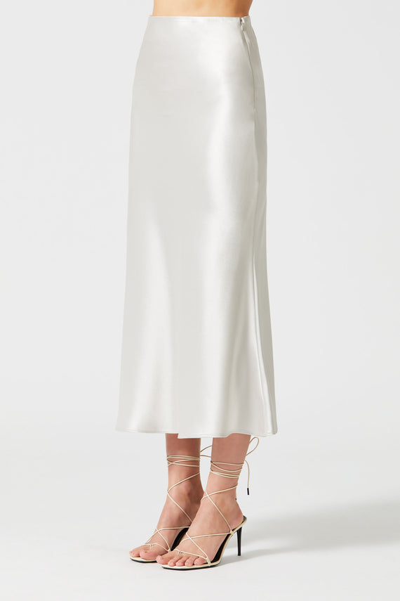 Valletta Skirt - Platinum