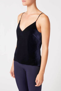 Velvet Camisole - Midnight