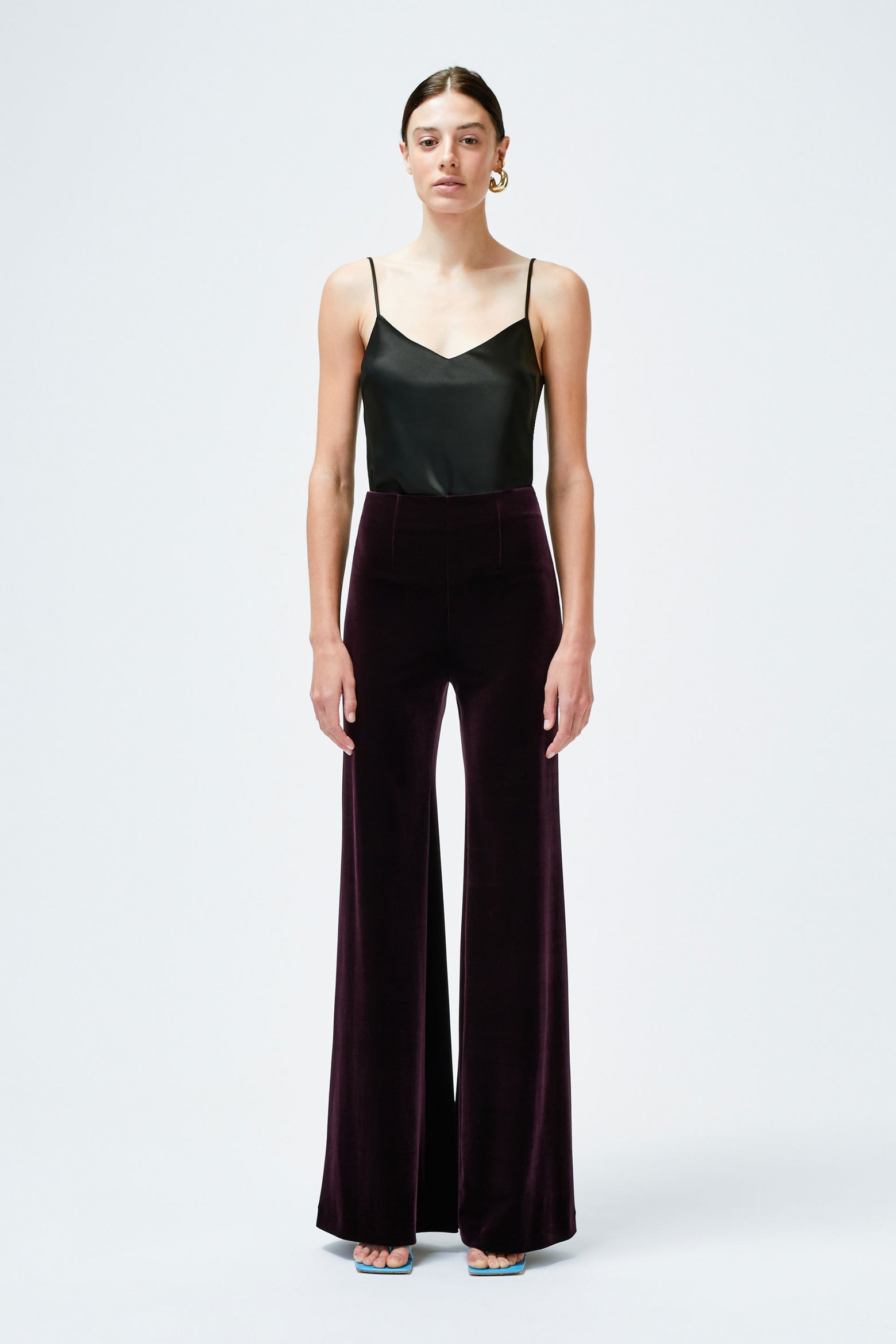 Winter Sun Trousers - Aubergine