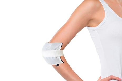 Emdiq White Sleeve for Hot & Cold Gel Pack by Muzamedical
