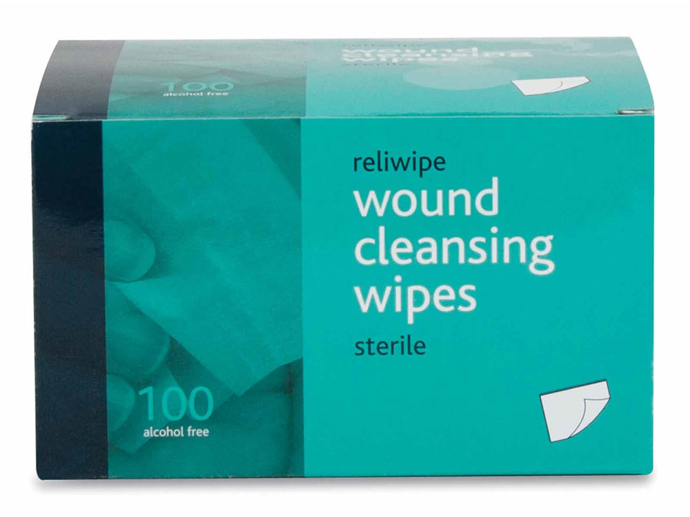 Reliwipe Wound Cleansing Wipes