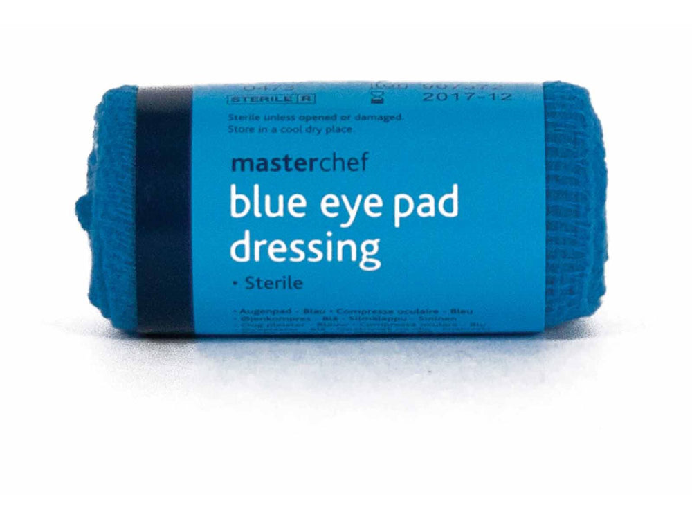 Eye Pad Dressing - Blue