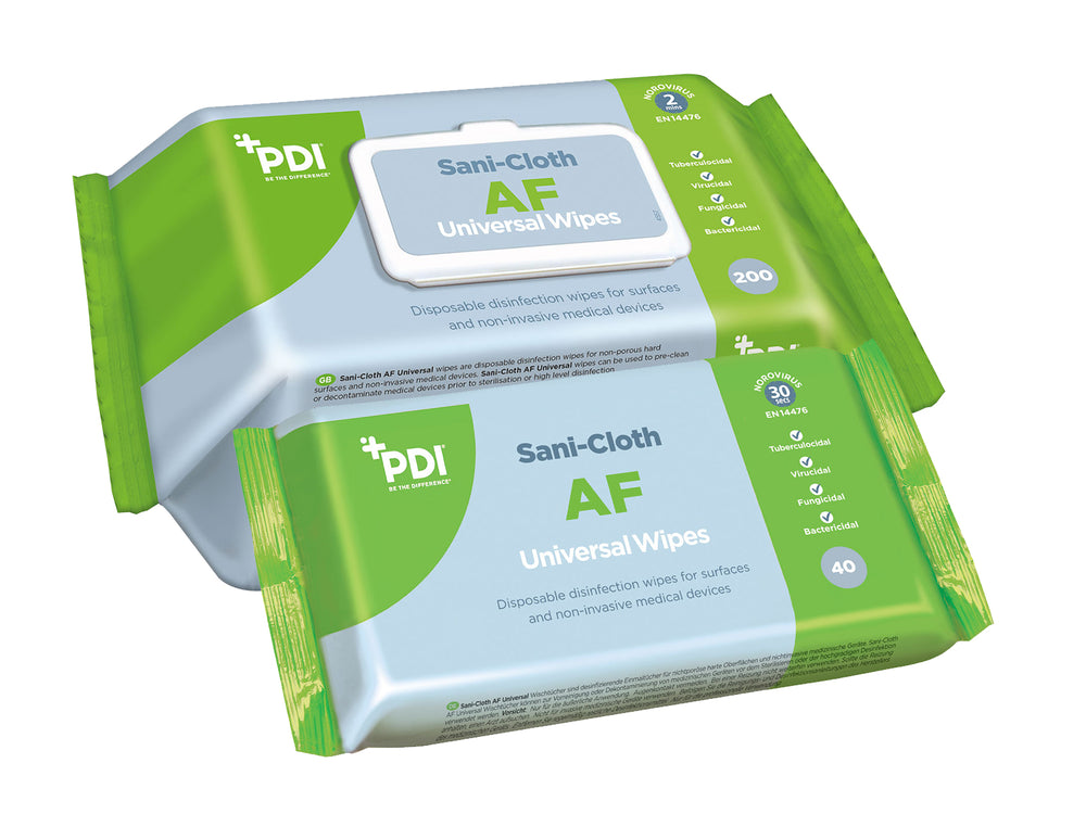 PDI Sani-Cloth AF Universal Wipes for Surfaces and Non-Invasive Medical Devices