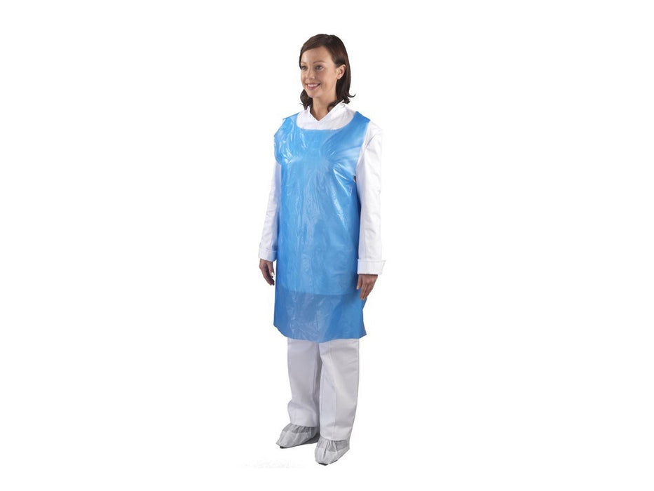 "Shield Plastic Apron 27 x 42"" Flat Packed (100)"