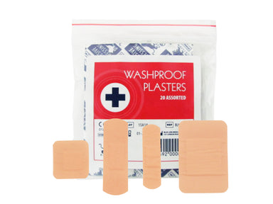 Blue Lion Washproof Plasters Assorted