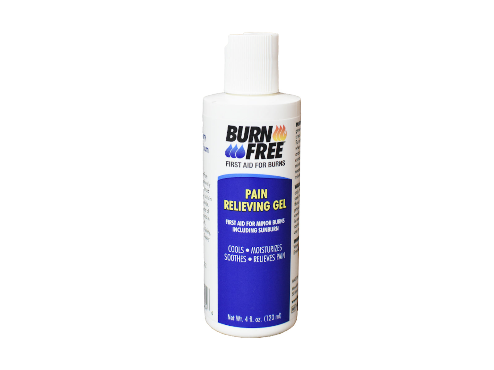 BurnFree Pain Relieving Gel 120ml