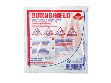 Burnshield Emergency Burncare Dressing 10cm x 10cm