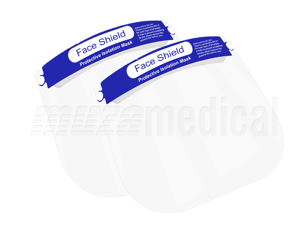 Disposable Face Visor - Pack of 2