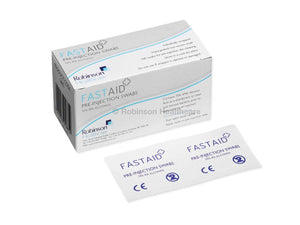 Fast Aid Pre-Injection Swabs 70% IPA Alcohol