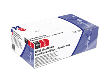 Handsafe GN83 Nitrile Powder Free Gloves