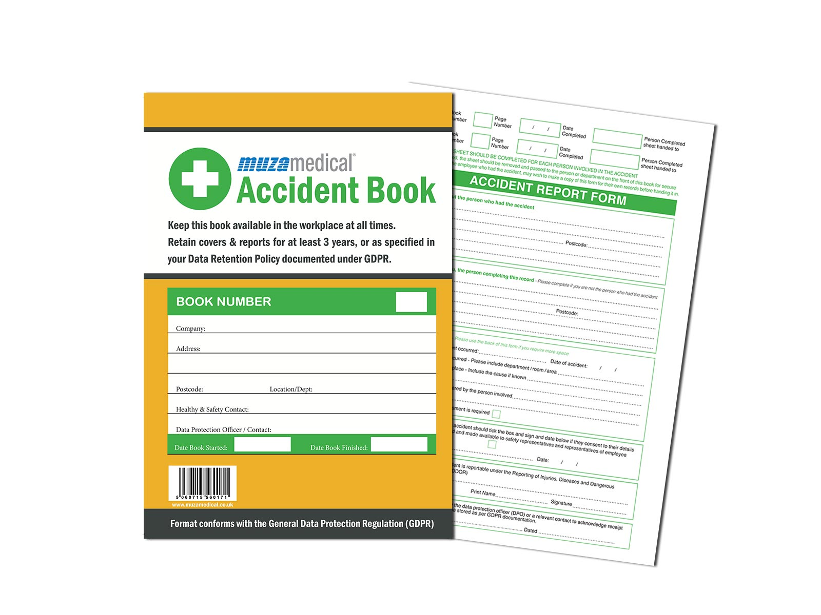 Accident Book A4 (50 perforated forms)
