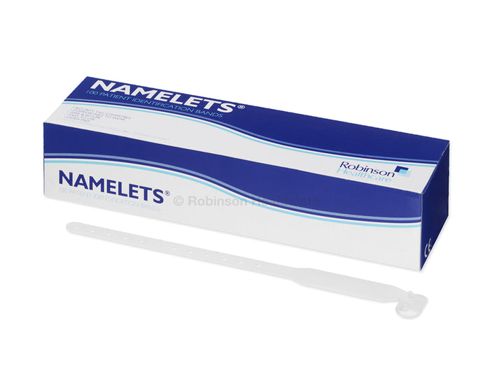 Namelets Write-On Patient ID Band - Adult