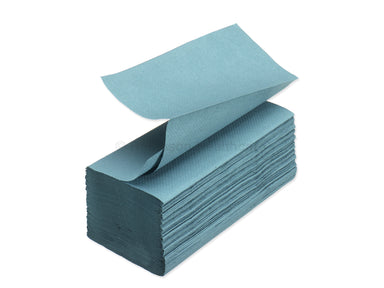 Readi Hand Towel - V Fold - Interleaved - Blue