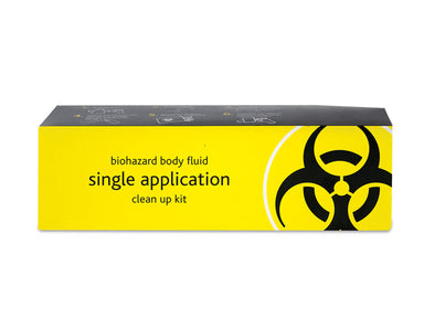 Biohazard Body Fluid Clean-Up 1 Application Kit