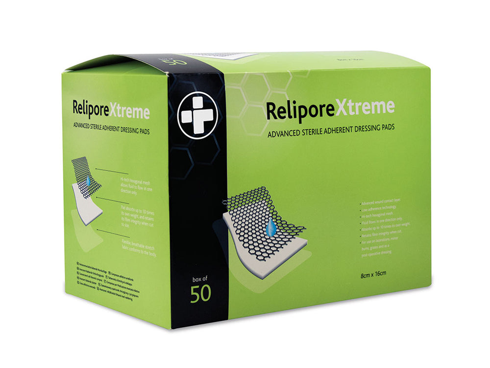 Relipore Xtreme Adhesive Dressing Pads (50)