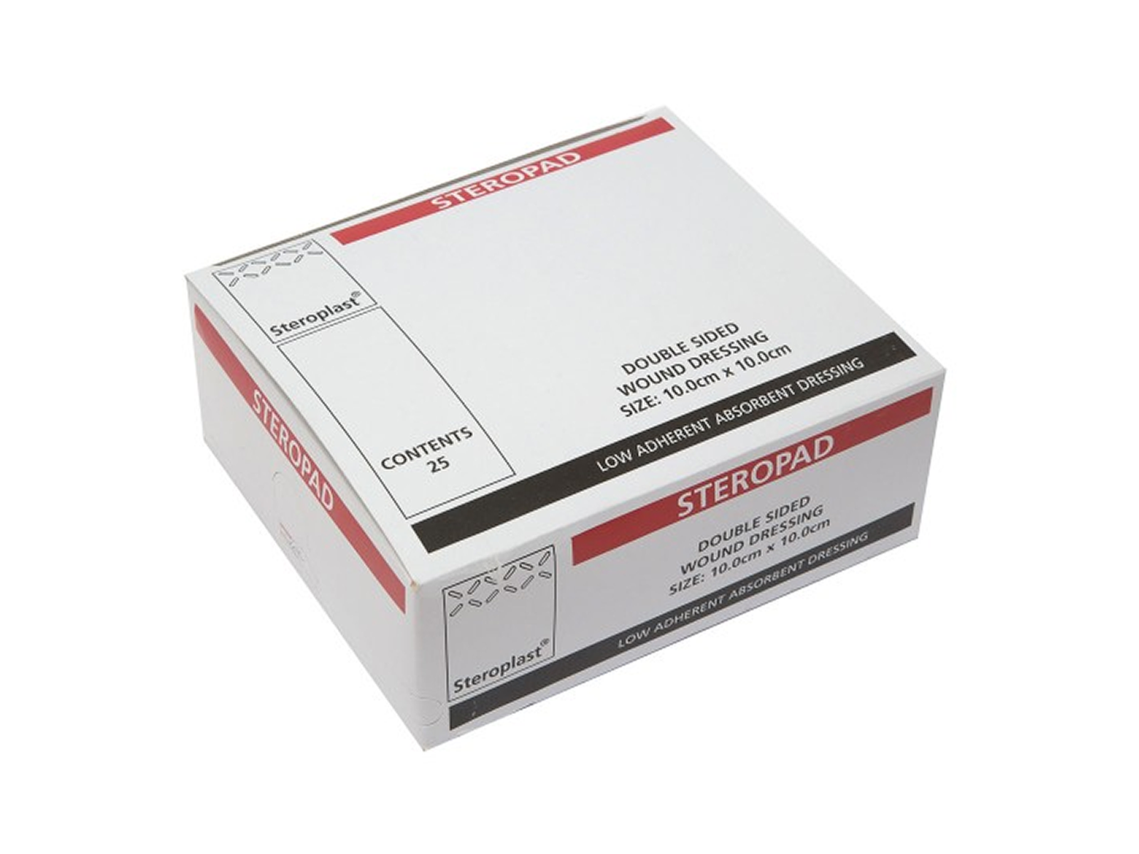 Steropad Double-sided Absorbent Wound Dressing 10cm x 10cm