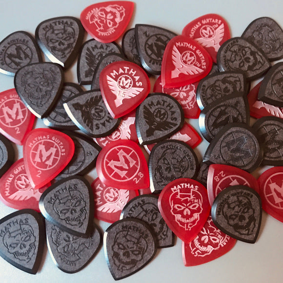 Mathas Guitars - Jazztor - Impaler - Beveled Guitar Picks - Keep Your Pick Hand Strong - Elite Series - Premium Series