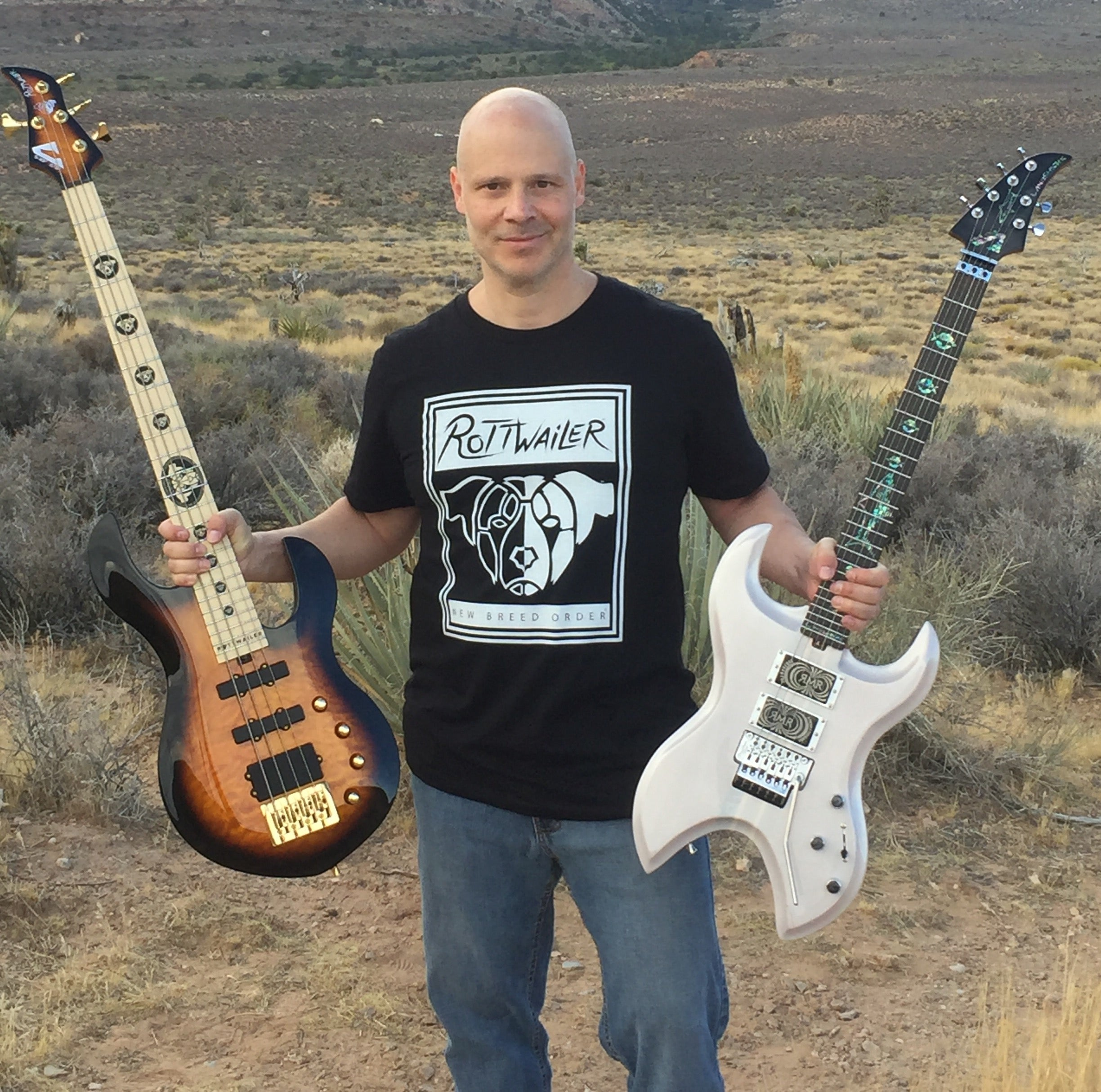 Jason Mathas - Owner Founder - Mathas Guitars