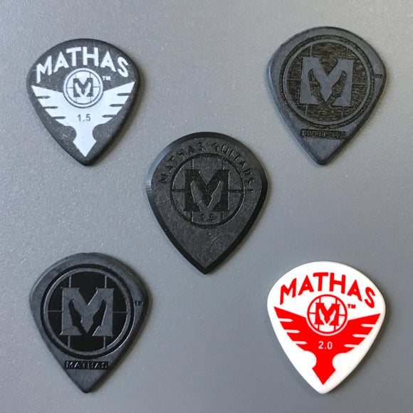 Mathas Guitars - Guitar Picks -