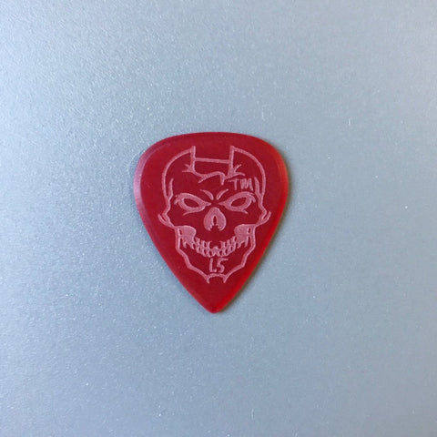 Mathas Guitars - Elite Series - Impaler - 1.5 mm - Beveled Guitar Picks - Keep Your Pick Hand Strong - Red