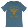 "Mathas Guitars ""Flight"" Logo - T-Shirt"