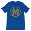 "Mathas Guitars - ""Classic Emblem"" Logo (Gold Dust) - T-Shirt"