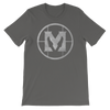 "Mathas Guitars ""Classic Emblem"" Logo (Granite) - T-Shirt"