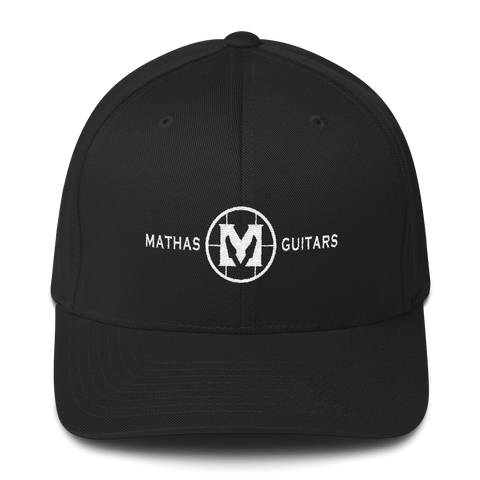 Mathas Guitars - Hat - Baseball Hat - Live Sharp Shred Hard
