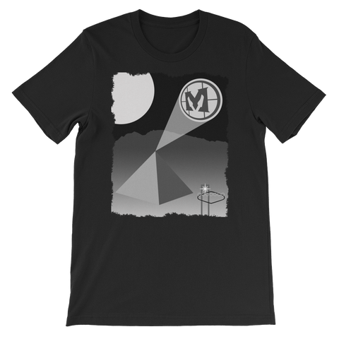"Mathas Guitars - ""Desert Signal"" Shredded - T-Shirt"