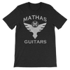 "Mathas Guitars ""Flight"" Logo (Granite) - T-Shirt"