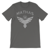 "Mathas - ""Flight"" Logo (Granite) - T-Shirt"