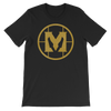 "Mathas Guitars ""Classic Emblem"" Logo (Gold Dust) - T-Shirt"