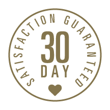 30 day satisfaction guaranteed