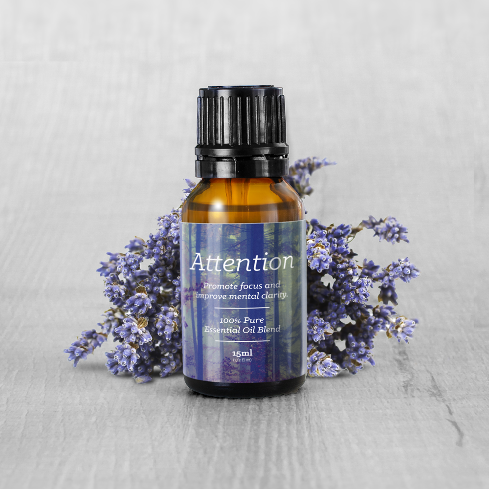Attention Essential Oil Blend (15ml)