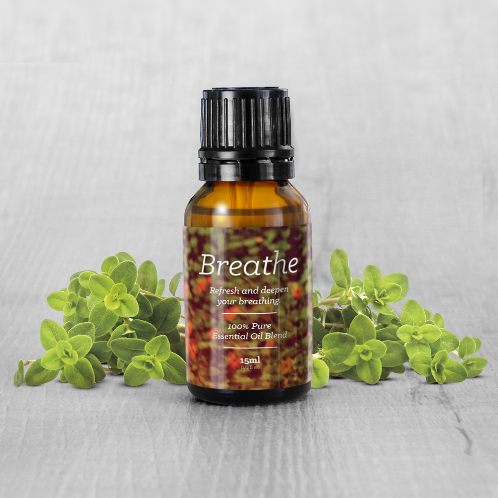 Breathe Essential Oil Blend (15ml)