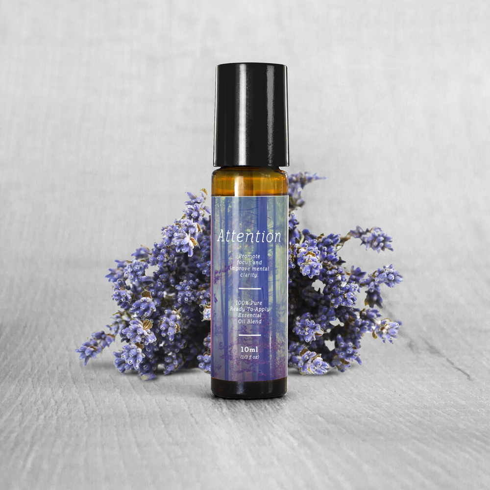 Attention Essential Oil Blend Roll-On (10ml)