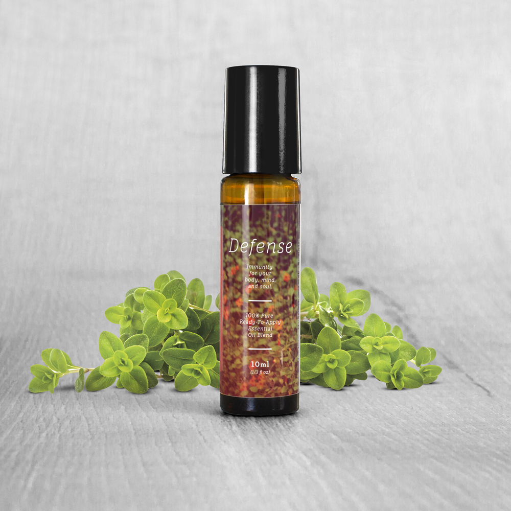Defense Essential Oil Blend Roll-On (10ml)