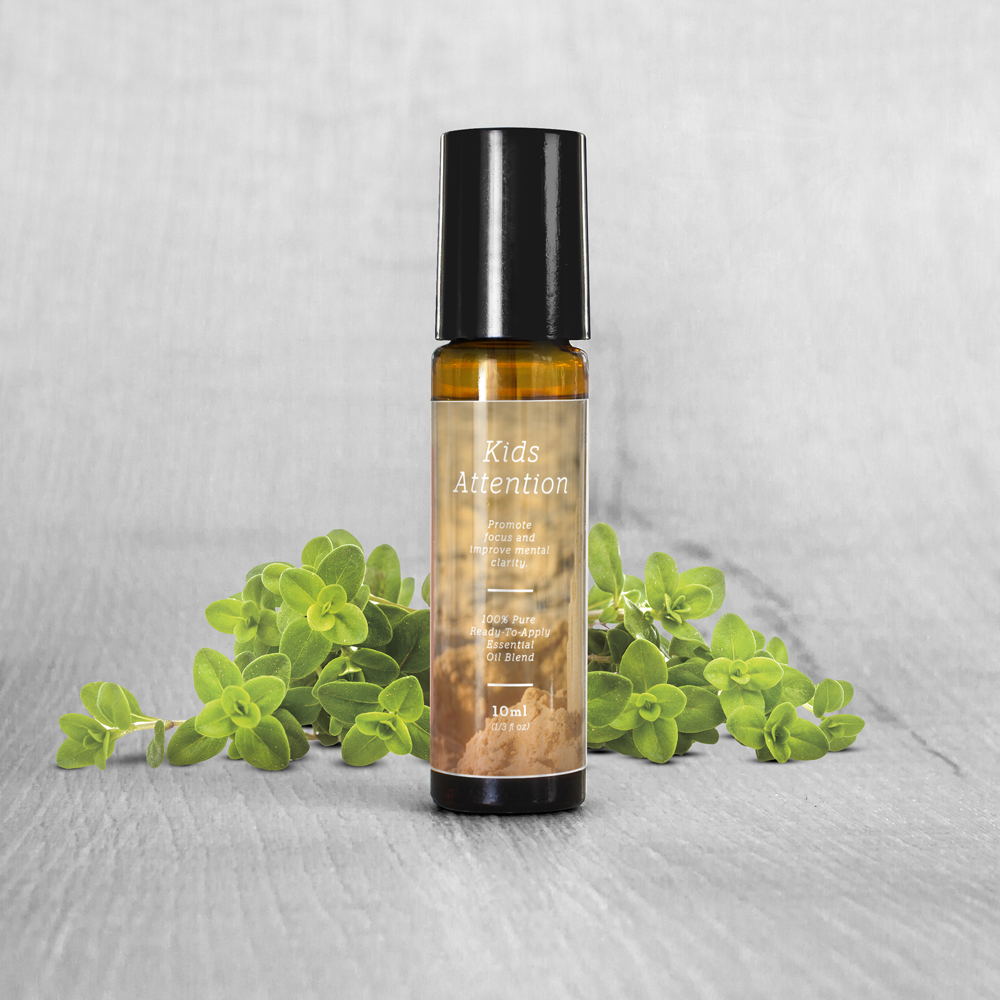 Kids Attention Essential Oil Blend Roll-On