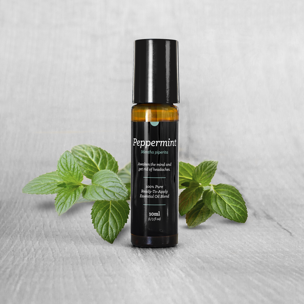 Peppermint Essential Oil Roll-On (10ml)