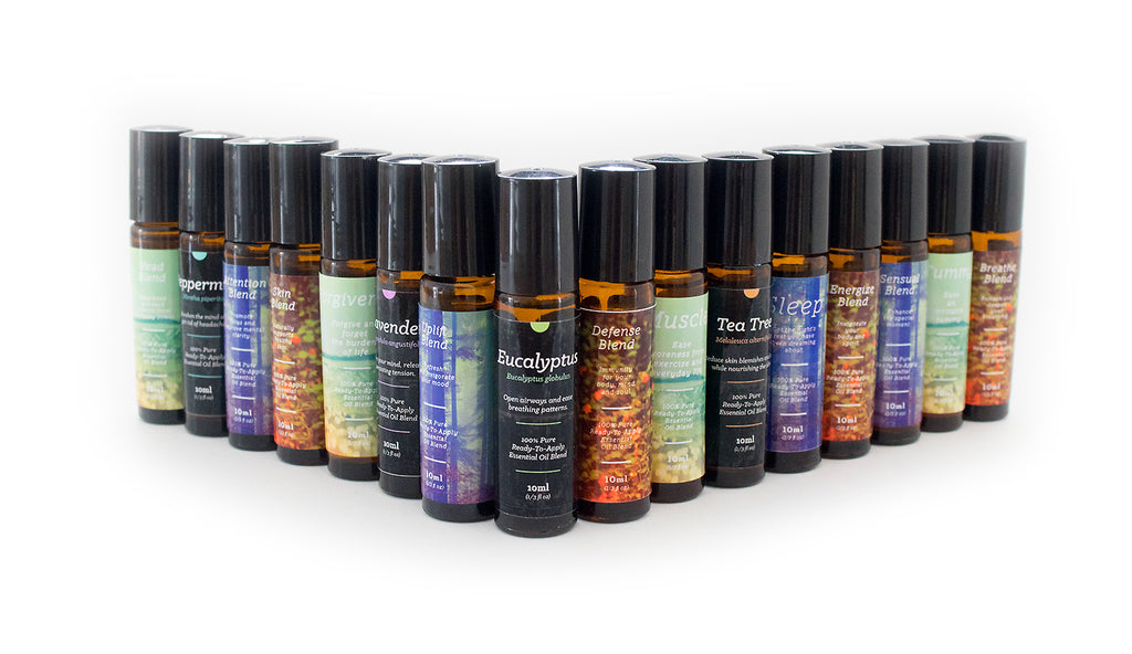 Complete Essential Oil Roll-On Kit