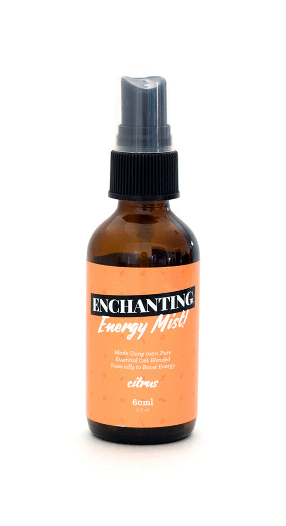 Enchanting Energy Mist - Citrus, Part of the Good Vibes Collection (60ml)