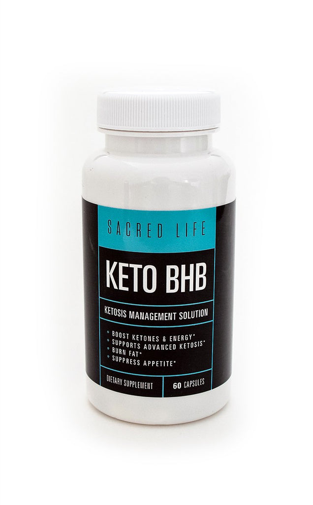 Keto BHB Ketosis Management Supplement | 60 Capsules